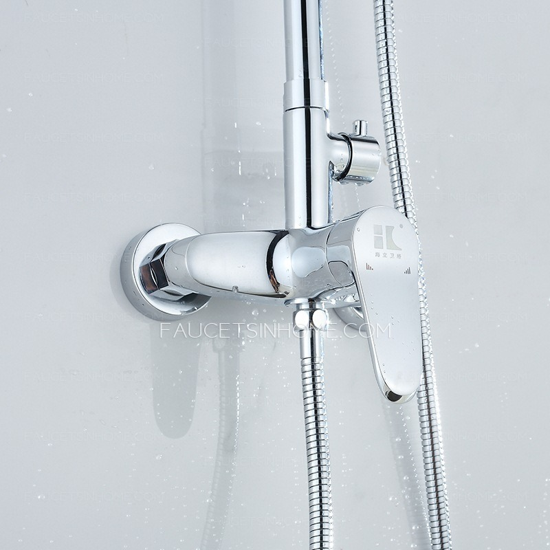best shower faucet sets. Best Rotatable Pipe And Top Shower Faucet Set