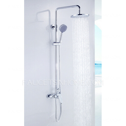 best shower faucet sets. best rotatable pipe and top shower faucet set sets