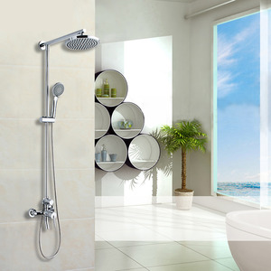Fashion Brass Casting Shower Faucet With Top And Hand Shower