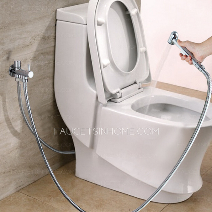 Classic hand Held Spray Wall Mounted Bidet Faucet