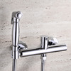 Best Brass Wall Mounted Hand Held Spray Bidet Faucet