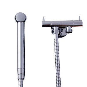 Best Brass Two handles Bidet Faucet With Spray