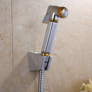 Modern Pressurized Brass Bidet Faucet With Hand Held Spray
