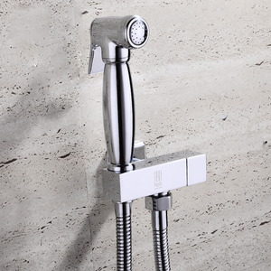 Classic Brass One Hole Hand Held Spray Bidet Faucet