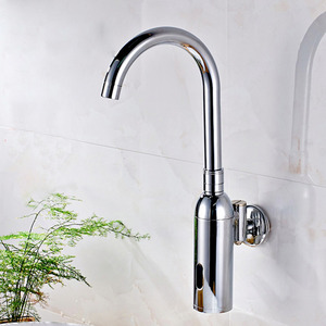 Classic Automatic Brass Wall Mounted Touchless Faucet
