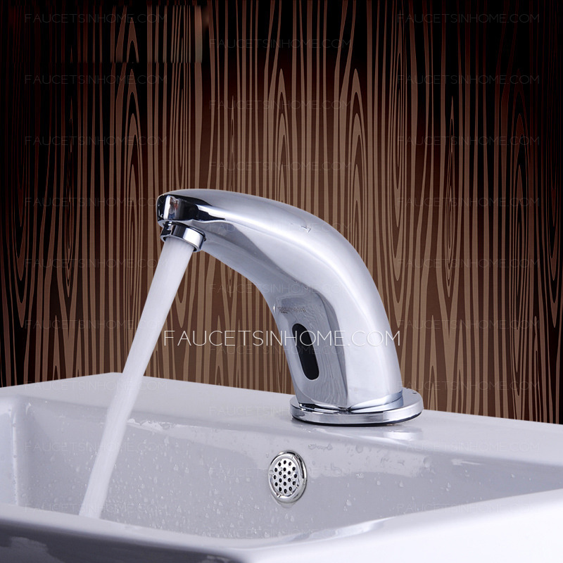 Modern Thermostatic Automatic Brass Touchless Faucet