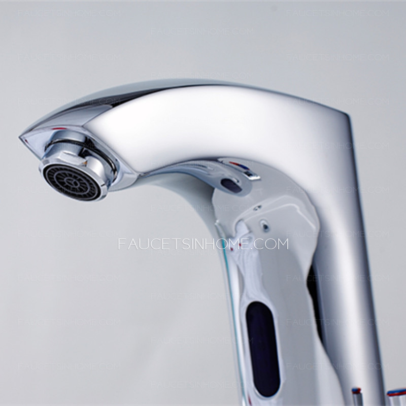 High End Automatic DC Power Cold And Hot Water Touchless Faucet