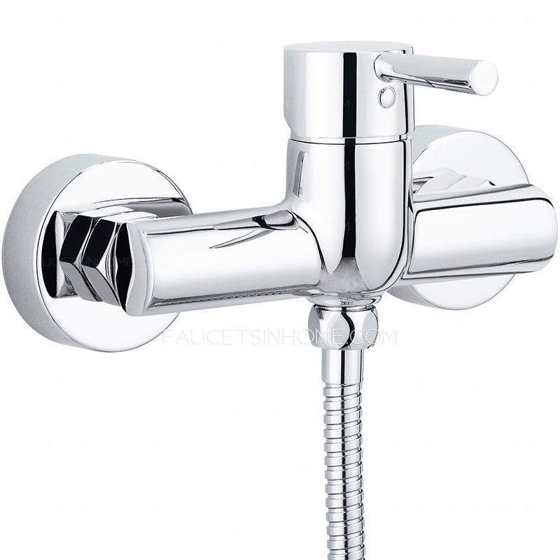 Good Simple Brass Hand Held Shower In Outside Shower Faucet