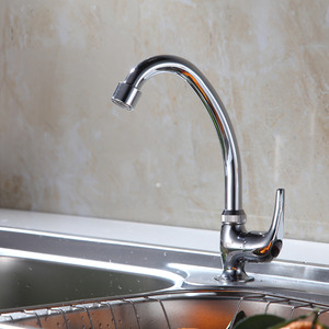 Discount Rotatable Kitchen Faucet For Cold Water Only
