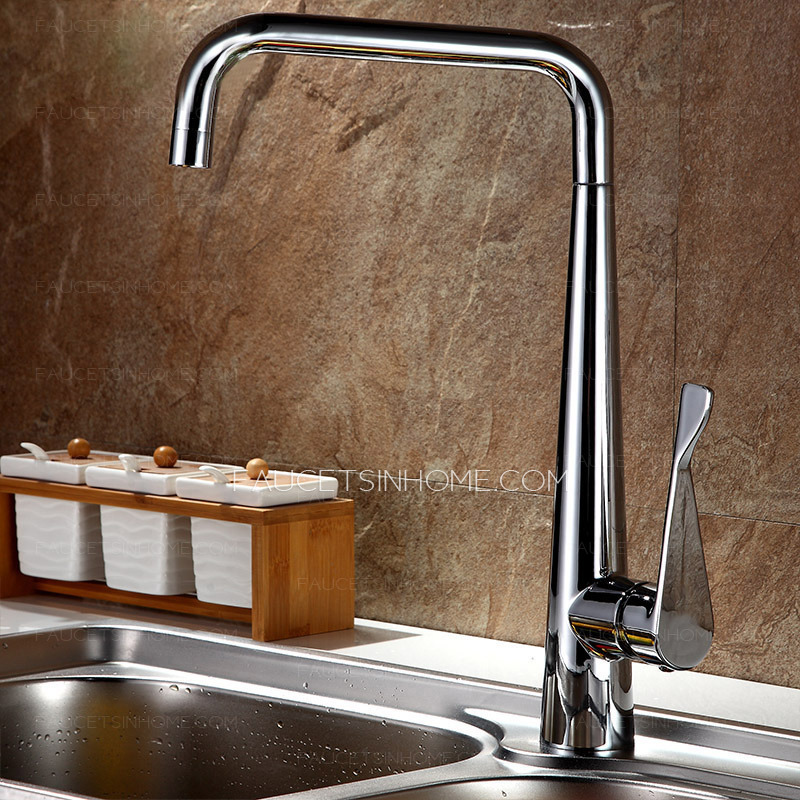 Best brass rotatable kitchen sink faucet on sale for Best faucets for kitchen sink