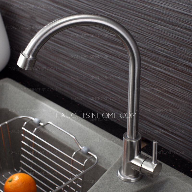 Best Healthy Stainless Steel Cold Water Kitchen Sink Faucet