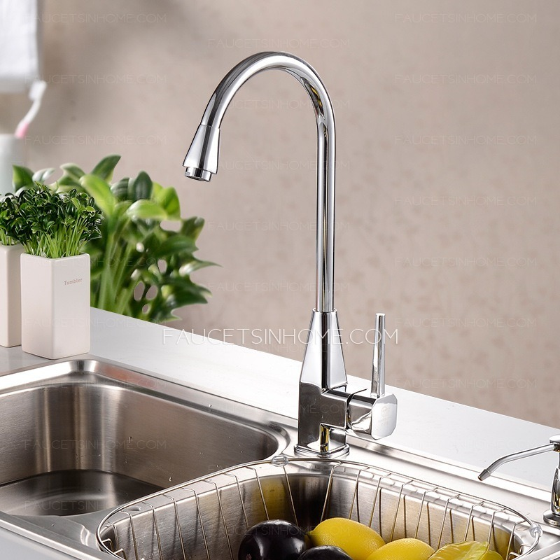 Modern Kitchen Sink Faucet Of Rotatable Pipe