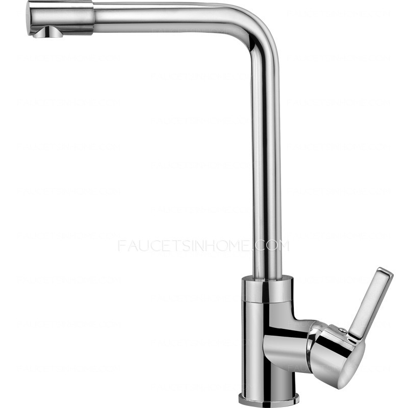 top rated rotatable single handle one hole kitchen sink faucet top rated brass single hole rotatable kitchen sink faucets