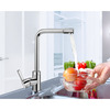 Top Rated Rotatable Single Handle One Hole Kitchen Sink Faucet