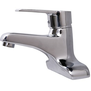 Commercial Two Holes Brass Centerset Bathroom Sink Faucet