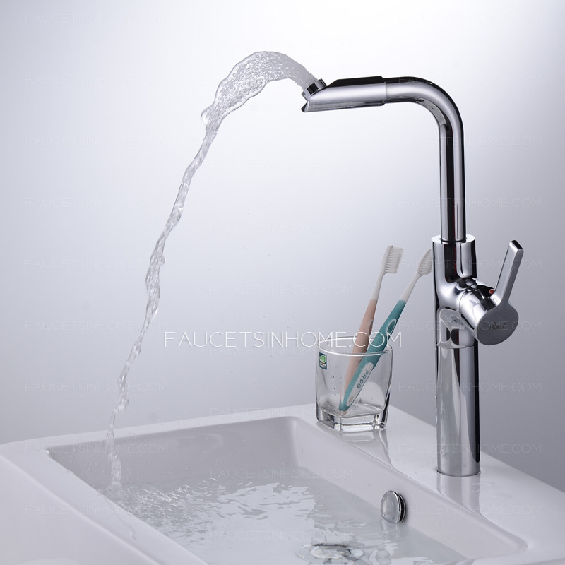 Cool Bathroom Faucets : Bathroom Sink Faucets > Cool Vessel Heightening Deck Mounted Bathroom ...