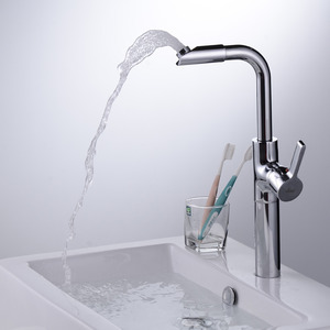 Cool Vessel Heightening Deck Mounted Bathroom Faucet