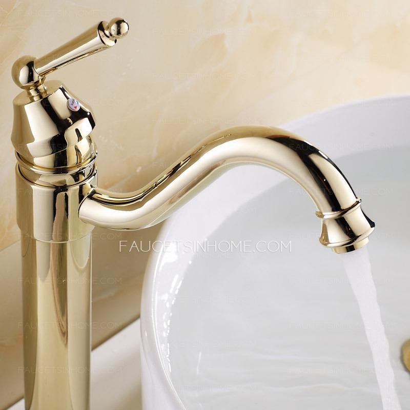 Install bathroom faucet