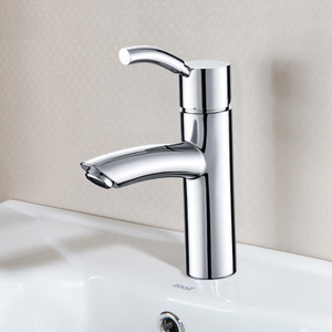 Professional Brass One Hole Single Handle Bathroom Faucet