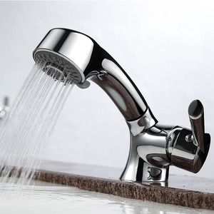 Cool Pullout Spray Single Handle One Hole Bathroom Faucet