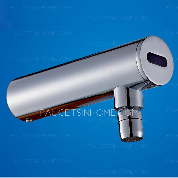 Cool Wall Mounted Cold Water DC Power Touchless Faucet