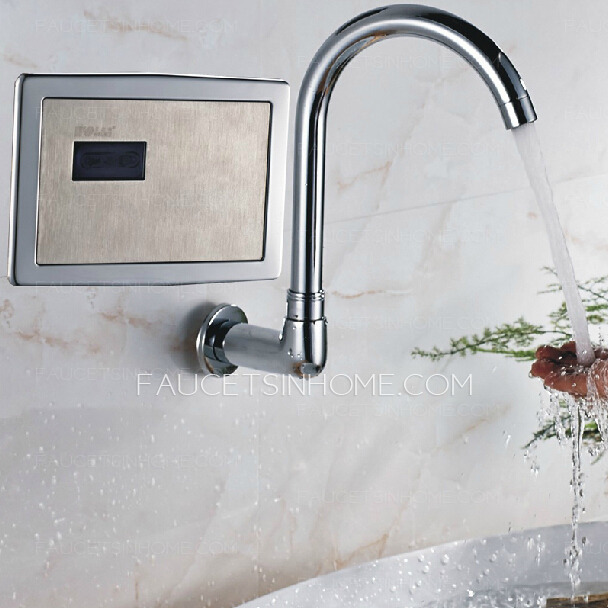 Intelligent Medical Automatic Sensing Touchless Sink Faucet