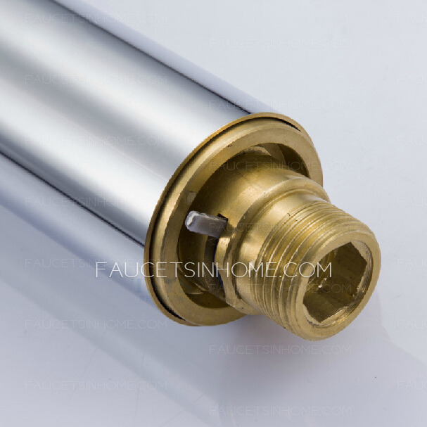 Simple Brass Automatic Sensing Medical Wall Mounted Touchless Faucet