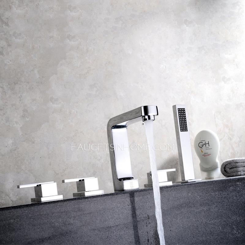 bathtub faucets top rated brass sidespray roman bathtub faucet