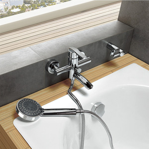 Cheap Bamboo Shaped One Hole Bathroom Sink Faucet