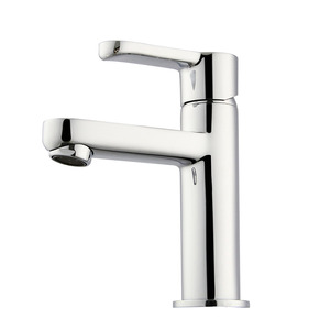 Modern Pb Free Brass Deck Mounted Bathroom Sink Faucet