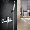 Modern Outdoor Wall Mount Shower Faucet Without Under Water