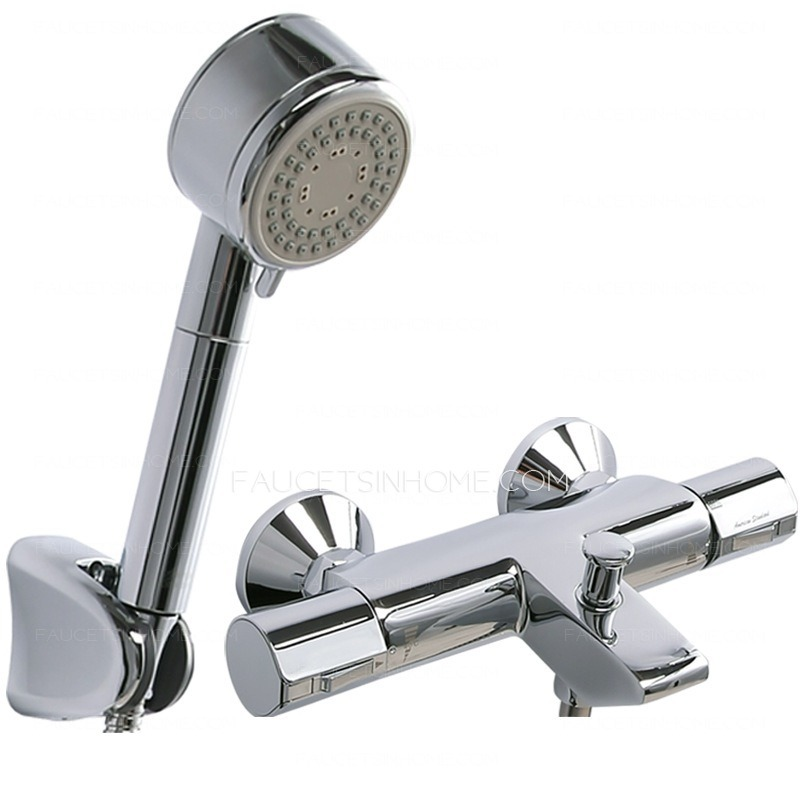 High End Faucets : ... Shower Faucets > High End Thermostatic Hand Shower In Shower Faucet