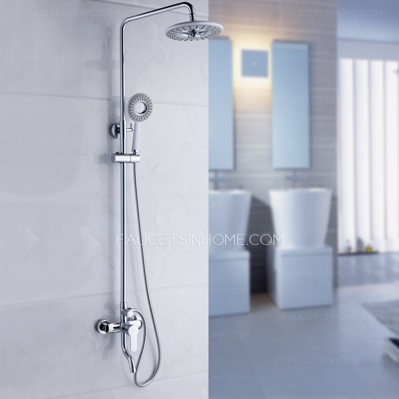 Shower Faucets > Discount Elevating Grey Top Shower In Bathroom Shower ...