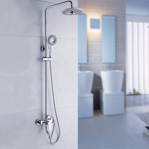 Discount Elevating Grey Top Shower In Bathroom Shower Faucet