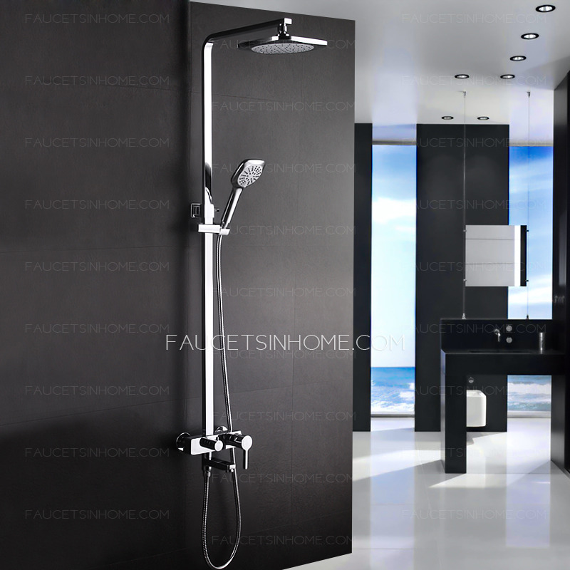 Contemporary Shower Faucets- So Many Varieties To Pick From