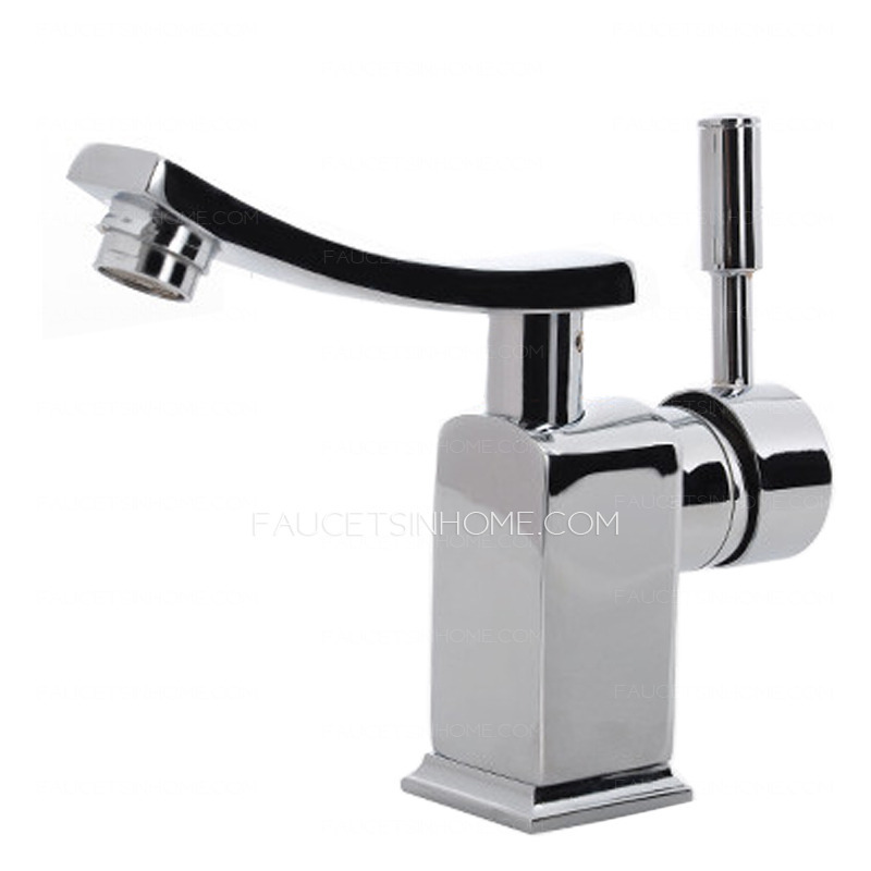 Cheap designed one hole copper holder bathroom sink faucet for Cheap toilet and sink set