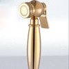 Cheap Gold Spray Brass Casting Wall Mount Bidet Faucet