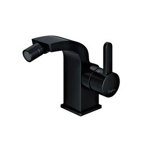 High End Black Copper Bidet Faucet With Cold And Hot Water