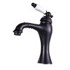 Antique Black Oil Rubbed Bronze Tall Bathroom Sink Faucet