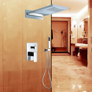 High End Concealed Wall Mount Shower Screen System