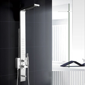 High End Single Hand Multi Water Shower Screen System