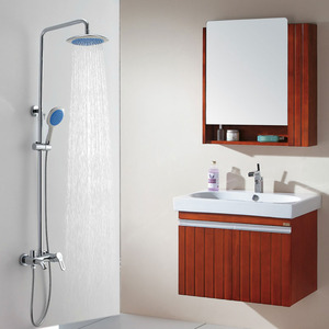 Modern Copper Elevating Pipe Self Clean Function Shower Faucet