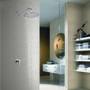 Simple Pb Free Copper Casting Concealed Shower Faucet