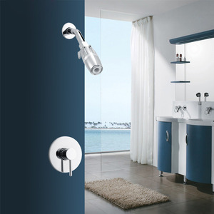 Discount Square Shape Spout Shower Faucet For Concealed Mount