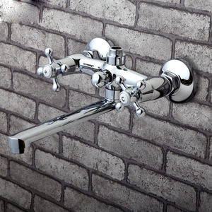Cheap Wall Mounted Long Spout Old Bathtub Faucet