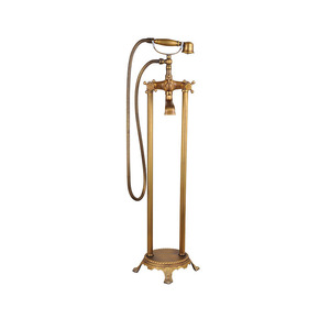 Vintage Gold Classical Style Freestanding Bathtub Shower Faucet