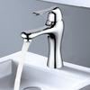High End Streamlined Design Deck Mount Bathroom Faucet