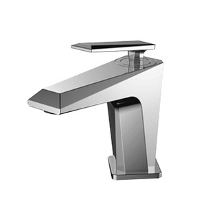 Modern Chrome Cutting Surface Cool Bathroom Sink Faucet