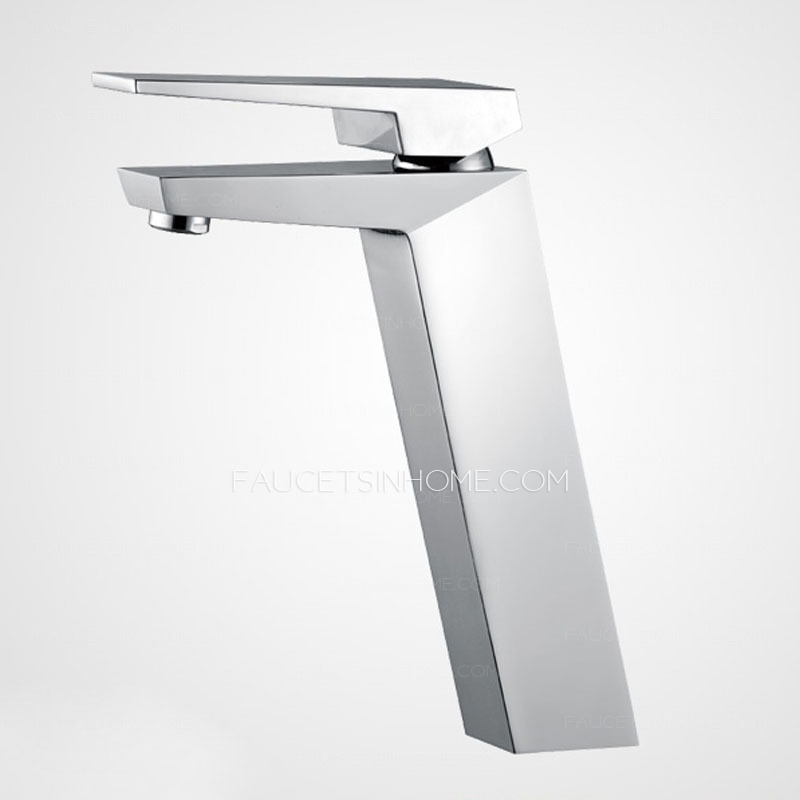 Modern Sloped Olecranon Style Cool Bathroom Sink Faucet