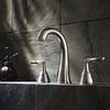Vintage Split Style Three Set Bathroom Faucet Brushed Nickel